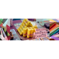 20201212 Rolled Beeswax Candles for the Holidays!